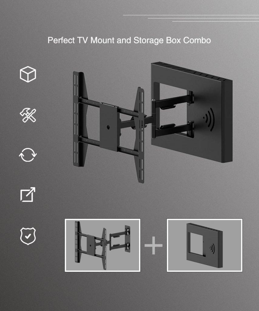Full Motion TV Mount 2 1