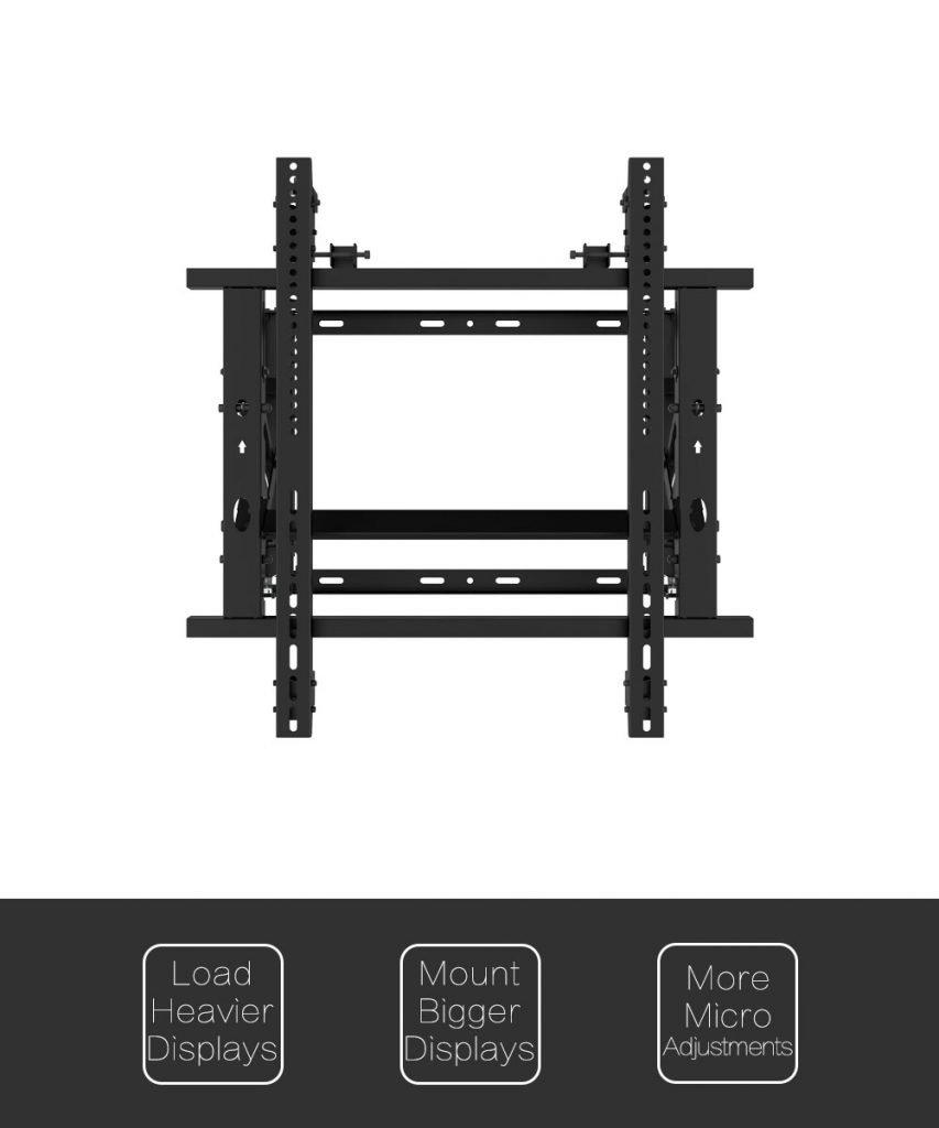 Gas Spring Micro adjustable video tv Wall Mount Bracket 2