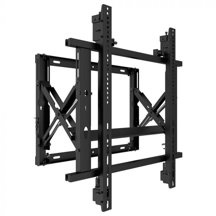 Gas spring video wall mount 2