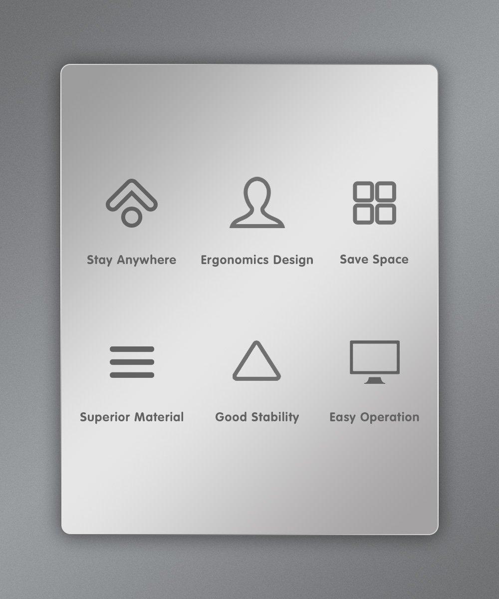 Peacemounts Customized Tablet Kiosk LDM100 2 1