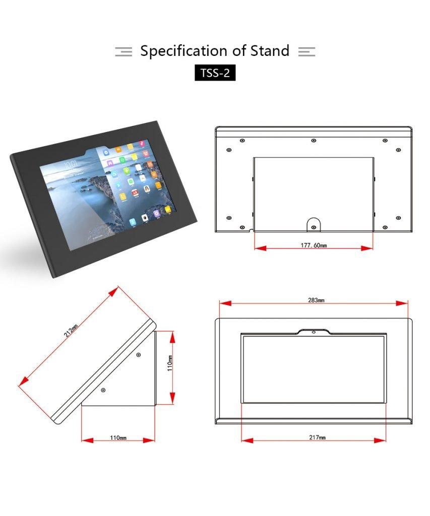 Peacemounts Tablet Kiosk TSS 2 2
