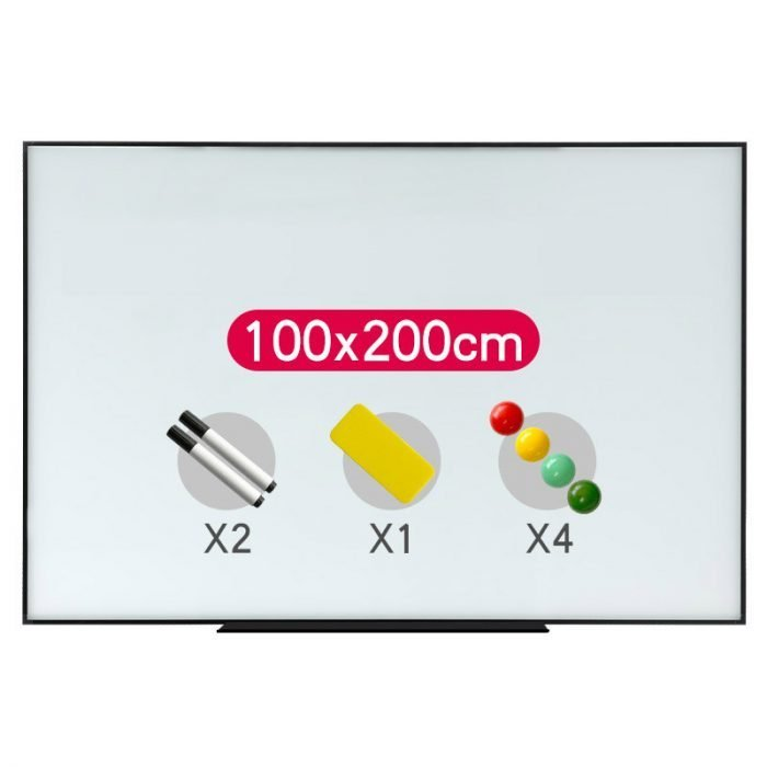magnetic glass whiteboard 3