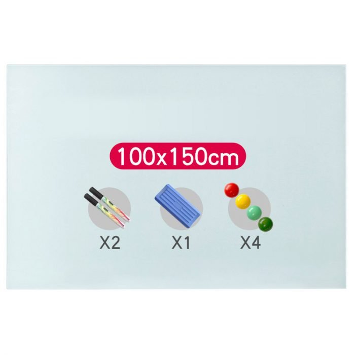 magnetic glass whiteboard 4