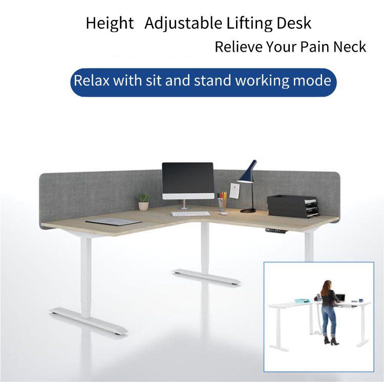 Electric Lifting Office Tables Desk frame 2