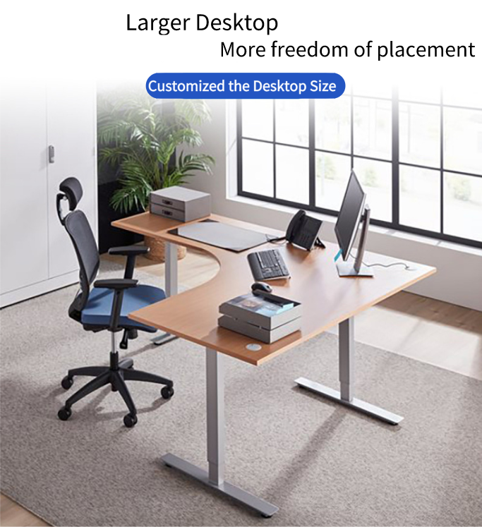Electric Lifting Office Tables Desk frame 3