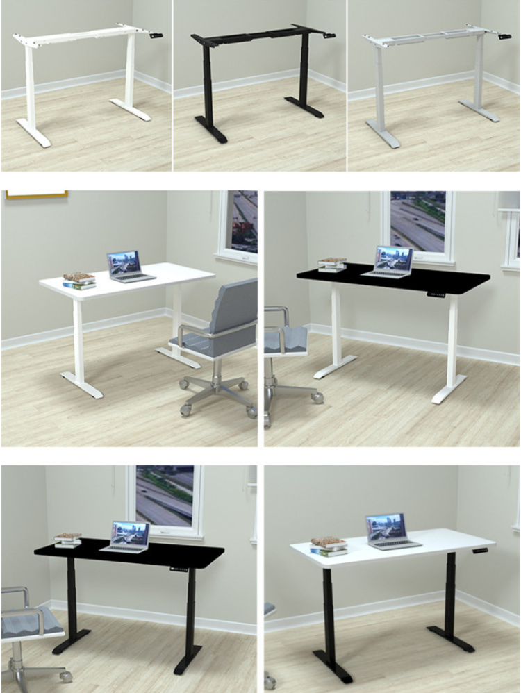 Electric Lifting Office Tables Stand Up Desk 1