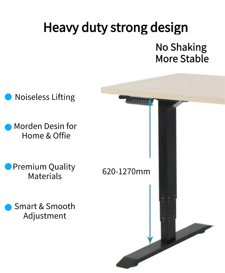 Electric Lifting Office Tables Stand Up Desk 13