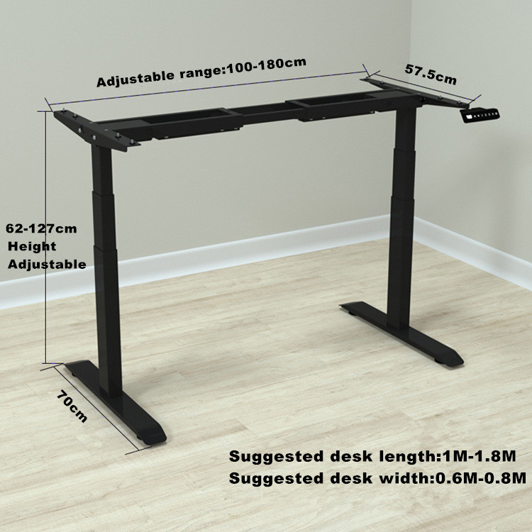 Electric Lifting Office Tables Stand Up Desk 2