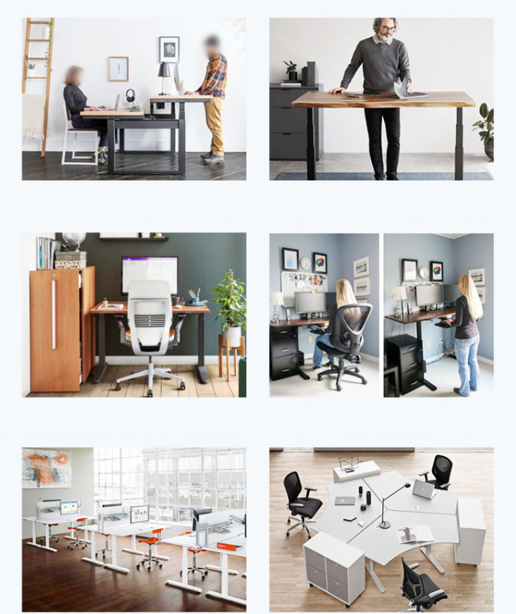 Electric Lifting Office Tables Stand Up Desk 9
