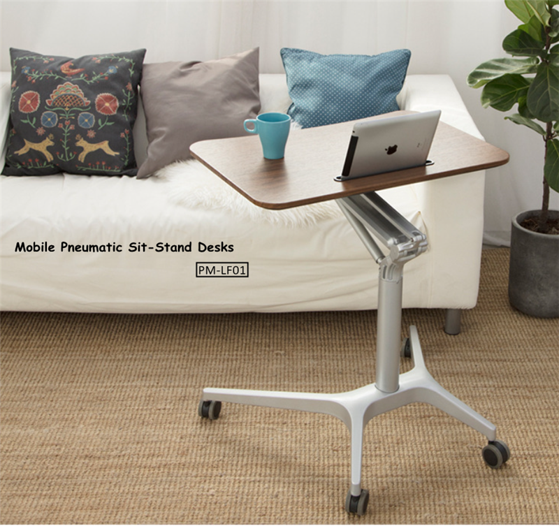 Mobile Pneumatic Office Desk 3