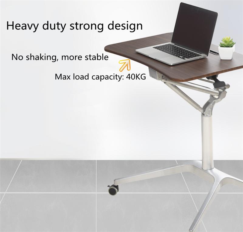 Mobile Pneumatic Office Desk 6