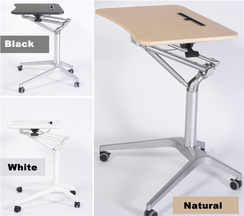 Mobile Pneumatic Office Desk 8