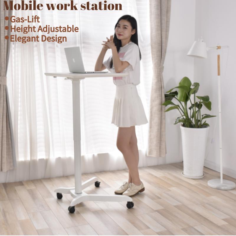 Standing Computer Desk Mobile Workstation 5 1