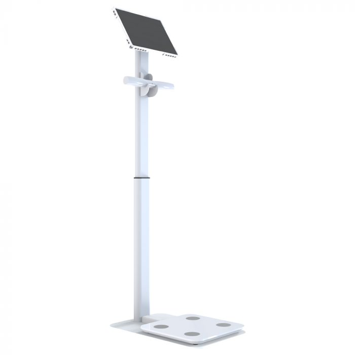 inbody Eight electrode body fat weight machine scale height adjustable floor stand 12