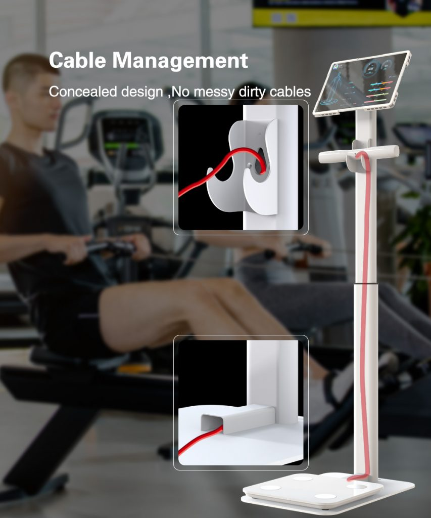 inbody Eight electrode body fat weight machine scale height adjustable floor stand 5 2