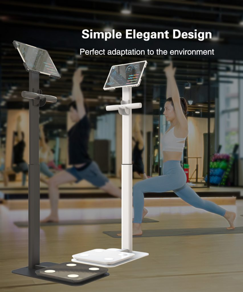 inbody Eight electrode body fat weight machine scale height adjustable floor stand 7 2