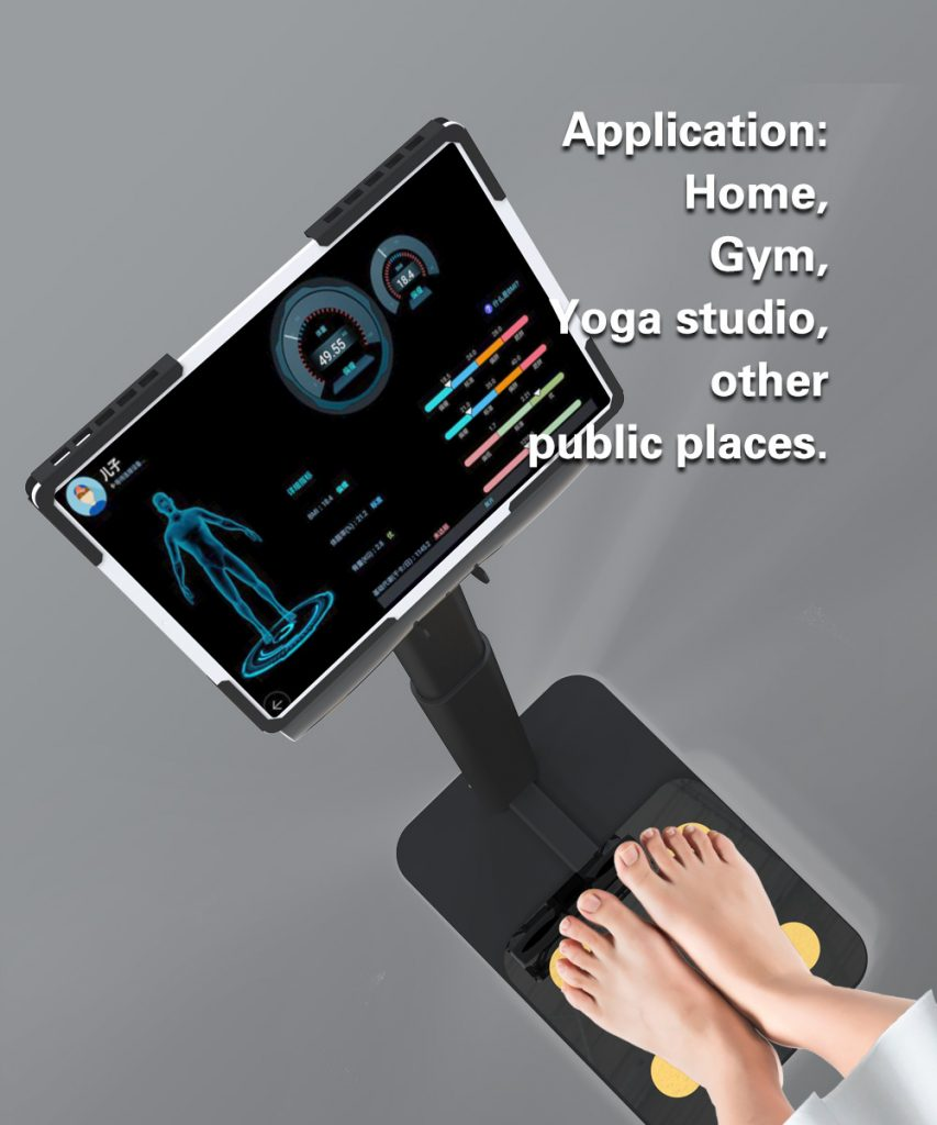 inbody Eight electrode body fat weight machine scale height adjustable floor stand 8 2