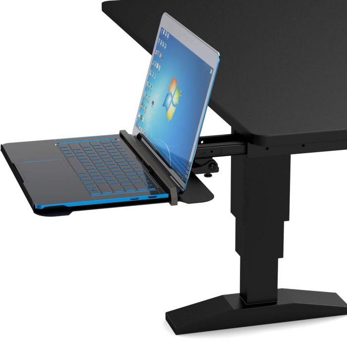 Sliding Laptop Holder for office desk 2 1