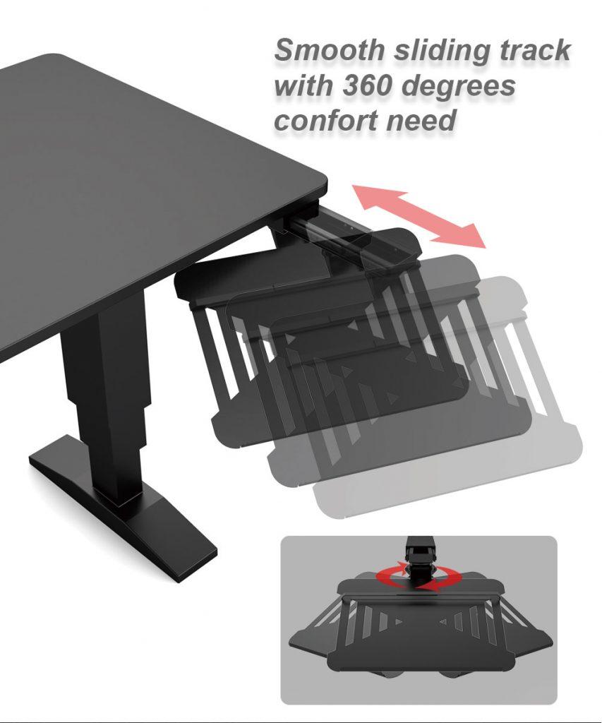 Sliding Laptop Holder for office desk 8