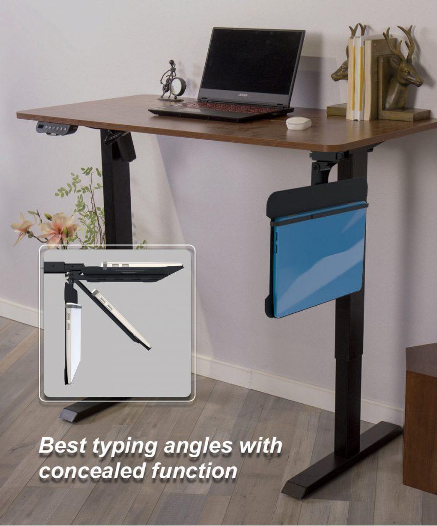 Sliding Laptop Holder for office desk 9