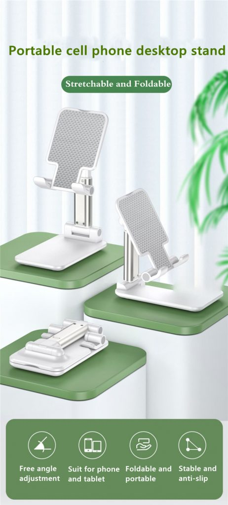Portable Folding Desktop Phone Tablet Stand Holder For iPad Mobile Phone 1 1