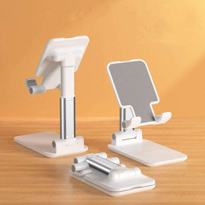 Portable Folding Desktop Phone Tablet Stand Holder For iPad Mobile Phone 1