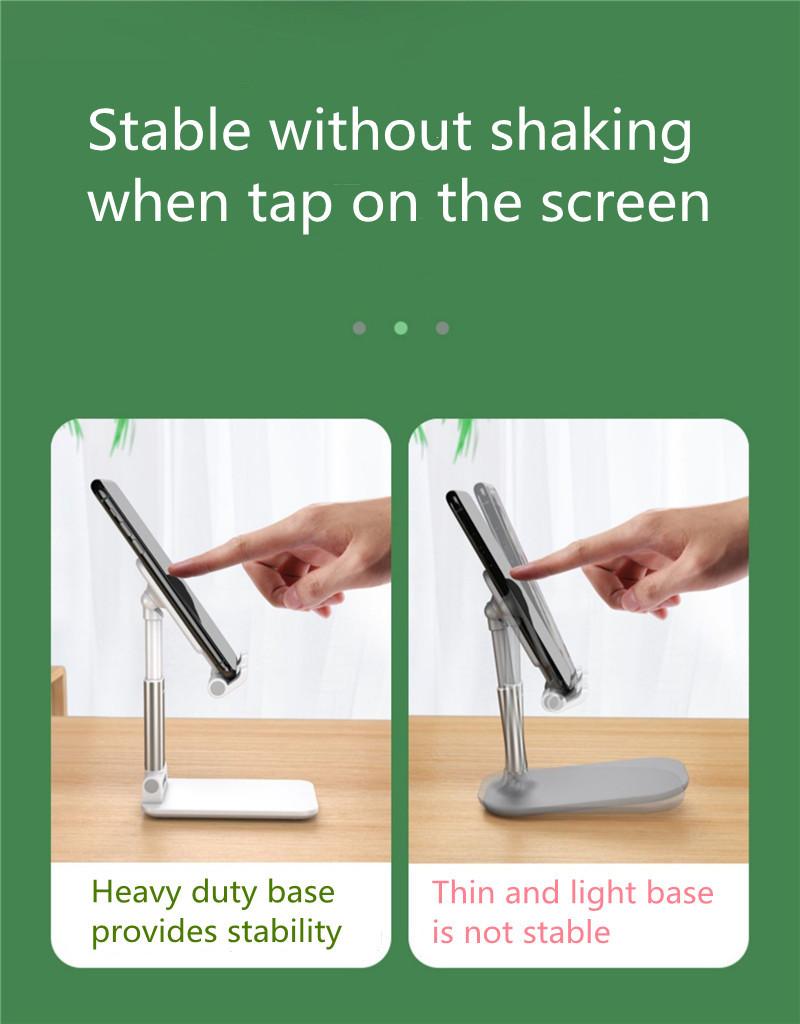 Portable Folding Desktop Phone Tablet Stand Holder For iPad Mobile Phone 11