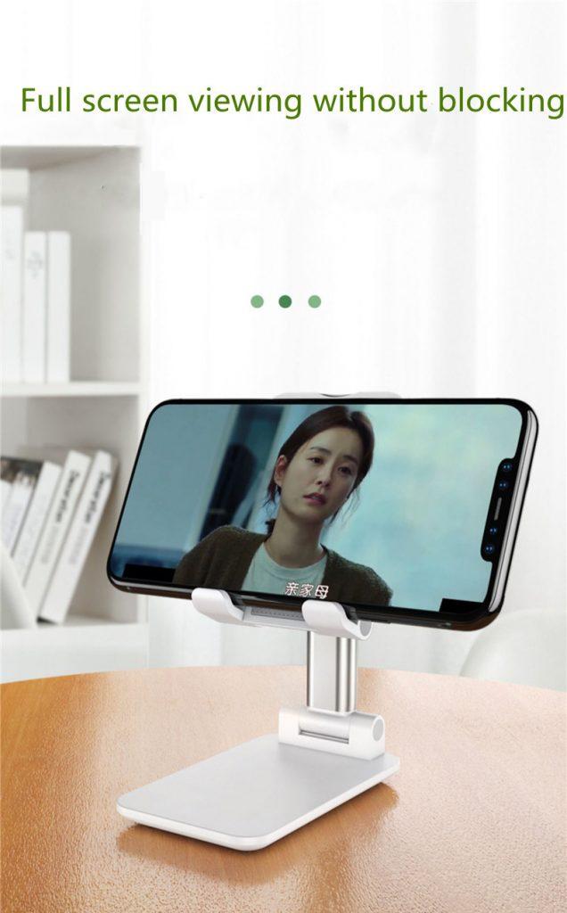 Portable Folding Desktop Phone Tablet Stand Holder For iPad Mobile Phone 13