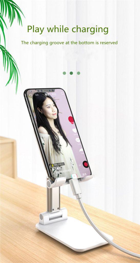 Portable Folding Desktop Phone Tablet Stand Holder For iPad Mobile Phone 14