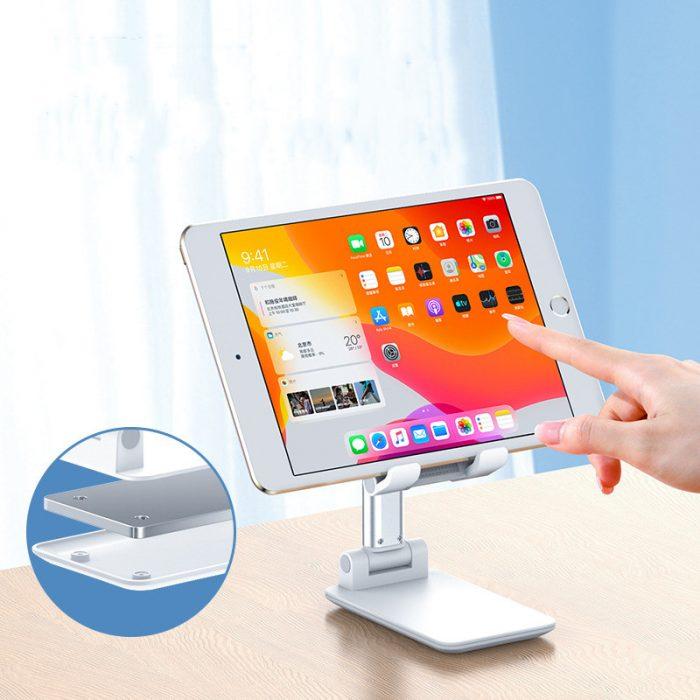 Portable Folding Desktop Phone Tablet Stand Holder For iPad Mobile Phone 3